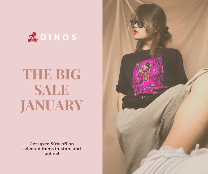 "TIN THỜI TRANG Big Sale ""MUA 1 TẶNG 1"" Của Local Brand Streetwear DINOS FASHION"